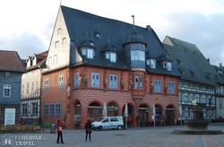 Goslar: a főtér egyik legszebb palotája