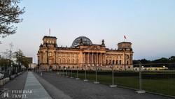 Berlin: a Reichstag (a német parlament épülete)