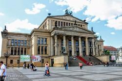 a Konzerthaus a Gendarmenmarkton, Berlin legszebb terén