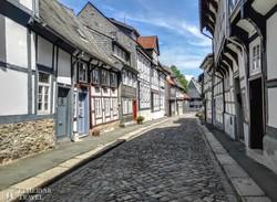 Goslar favázas házai