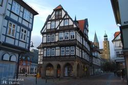 Goslar: közeledünk a főtér felé