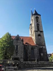 a Szent Martin-templom Halberstadtban