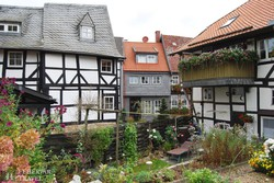 Goslar: jellegzetes óvárosi részlet