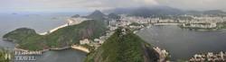 Rio: panoráma a Corcovado-hegyről