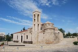 az ezeréves Ayia Paraskevi-templom Yeroskipou-ban