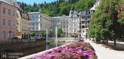 a híres Grandhotel Pupp Karlovy Varyban