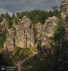 Cseh Paradicsom – a lenyűgöző sziklavidék