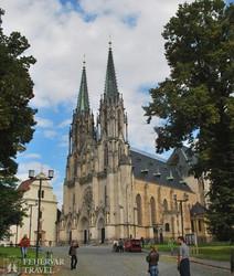 a Szent Vencel-dóm Olomoucben