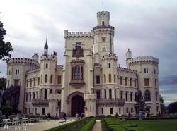 Hluboká kastélya