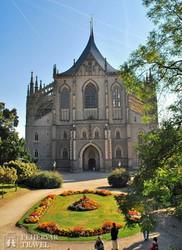 Kutná Hora: a Szent Borbála-katedrális