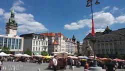a Piac tér Brnóban