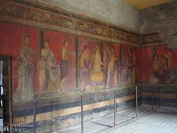 falfestmény Pompejiben