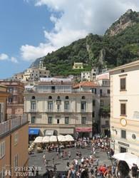 Amalfi hangulatos főtere