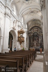 a Marienbergi kolostor temploma