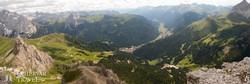 körkép a Dolomitok fenséges hegyvilágáról