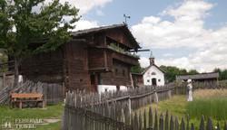 részlet Dél-Tirol néprajzi múzeumából