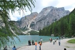a vadregényes Pragsi-tó