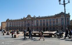 Toulouse városházája a főtéren
