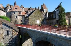 """Carennac – egy középkorból itt felejtett """"mesefalu"""""""