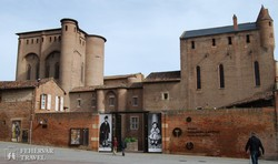 Albi: a Püspöki palotában van a Toulouse-Lautrec Múzeum