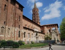 a Szt. Sernin-bazilika Toulouse-ban