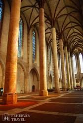 a Jakobinus-templom gótikus belsője