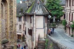Conques – egy darab középkor