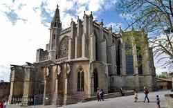 Carcassone katedrálisa