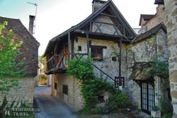 Carennac egy középkori háza