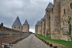 Carcassone középkori vára – részlet
