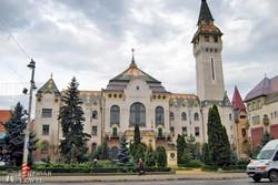 Marosvásárhely: a városháza épülete