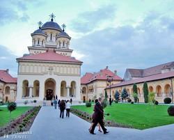 a gyulafehérvári ortodox koronázási templom
