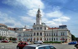 az aradi városháza épülete