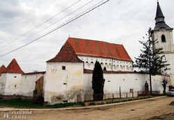a székelyderzsi templomerőd