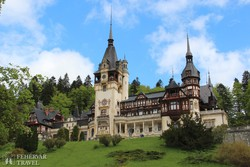 Sinaia: a Peleş-kastély, a román királyok egykori rezidenciája