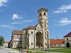 a gyulafehérvári katolikus katedrális