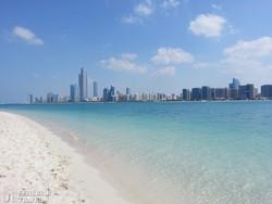 Abu Dhabi modern városnegyede