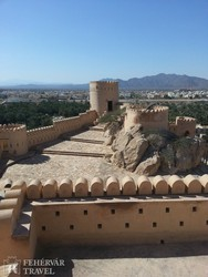 panoráma a Nakhl erődből