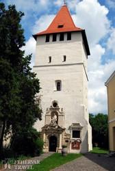 Nagyszalonta: az Arany János-emlékmúzeumnak helyet adó Csonka-torony