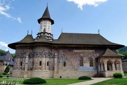 Sucevita kolostora Bukovinában