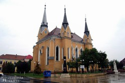 a máramarosszigeti református templom