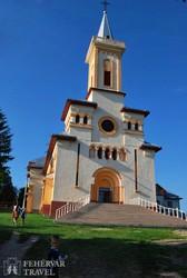 Pusztina: a Szent István-templom