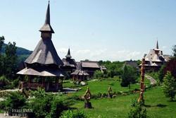 a barcánfalvai új kolostor épületegyüttese – részlet