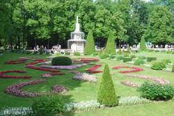 Petrodvorec: a kastély parkja – részlet
