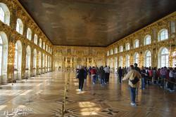 Puskin: a Katalin-kastély egyik díszterme