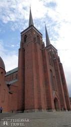Roskilde: a katedrális épülete