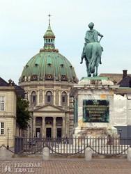 a Márvány templom Koppenhágában