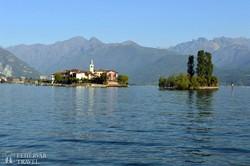 az Isola dei Pescatori (a Halászok-szigete) a Maggiore-tavon