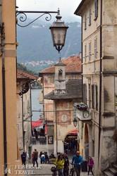 a középkori hangulatú Orta San Giulio