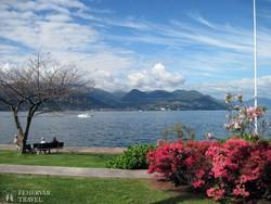 a Maggiore-tó Stresa felől